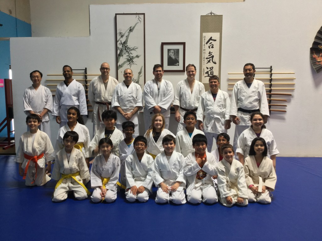 Our kids class, their instructors and parents,  April, 2016.