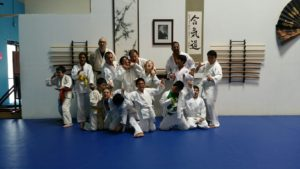 Last kids class at EC Athletics.